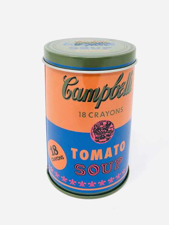 Andy Warhol Soup Crayons-Blue/Orange