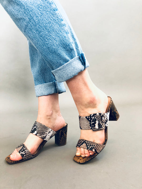 Chinese Laundry Yippy Snake Block Heels