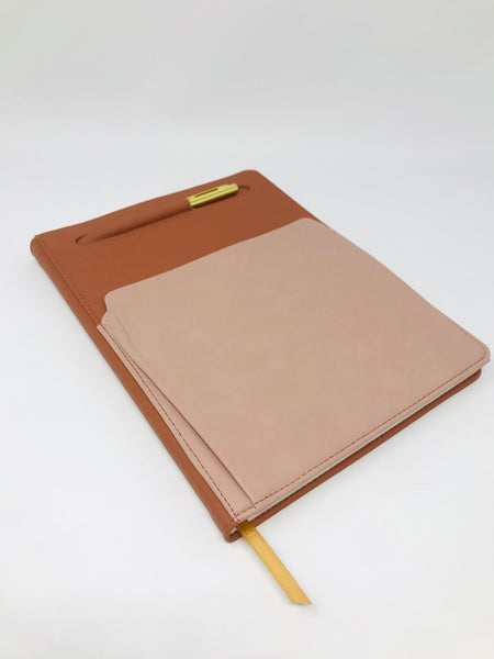 Vegan Leather Undated Planner