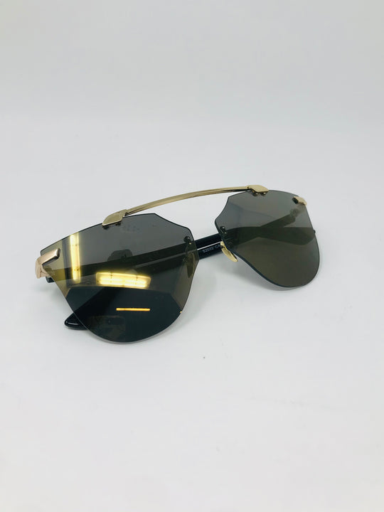 Olive Cat Eye Sunglasses