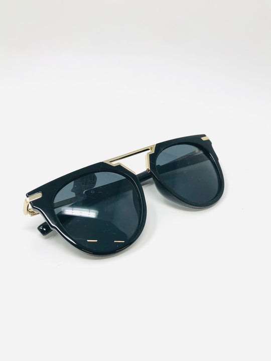 Brow Bar Round Sunglasses