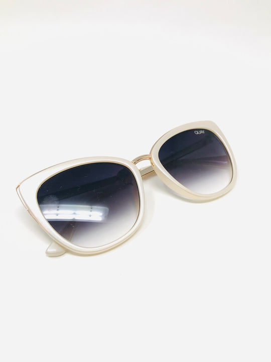QUAY Fade Sunglasses in Honey