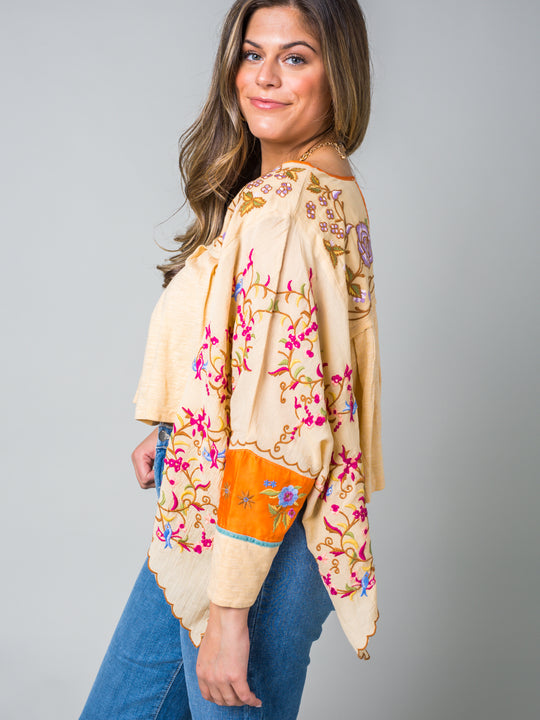 Free People Waiting on a Sunny Day Blouse