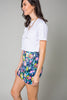 Roses Over Bros Floral Mini Skirt