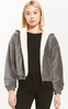 Z Supply Camille Cord Bomber Jacket