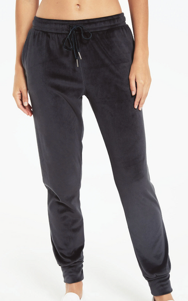 Z Supply Evalyn Velour Pant
