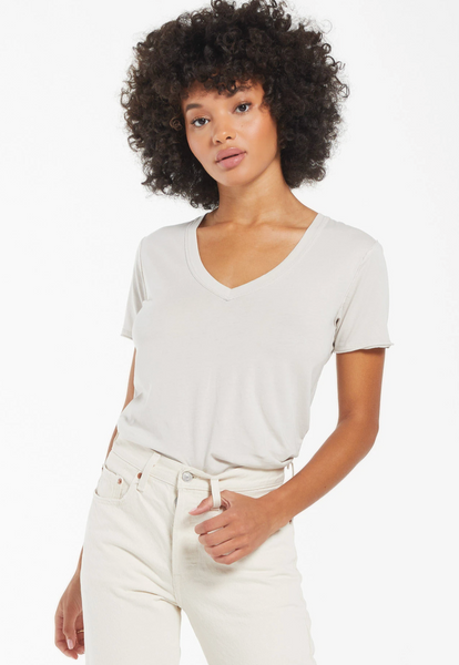 Z Supply The Organic Cotton V-Neck Tee