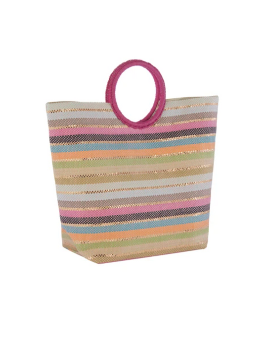 Amalia Tote in Pink