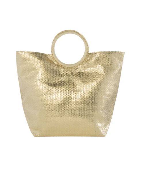 Adora Tote in Gold