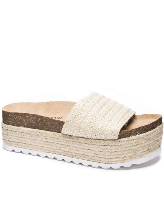 Dirty Laundry Palm Platform Sandals