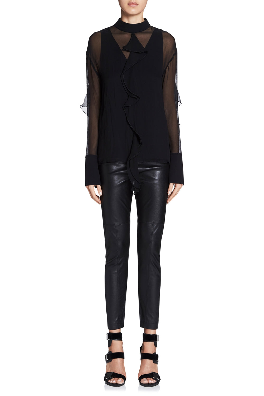 DIGITAL DASH LEATHER PANT