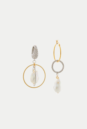 MOUNSER CARDIFF MISMATCHED EARRING