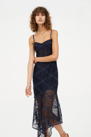 PARLOUR GAMES BALCONETTE DRESS