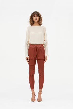 OPEN SEASON LEATHER PANT