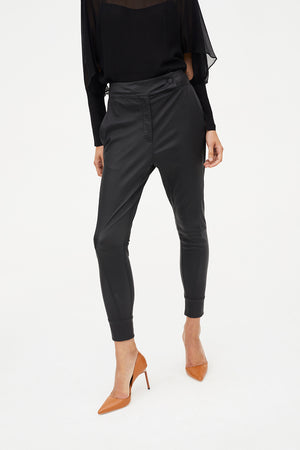 SCREEN TIME STRETCH LEATHER PANT
