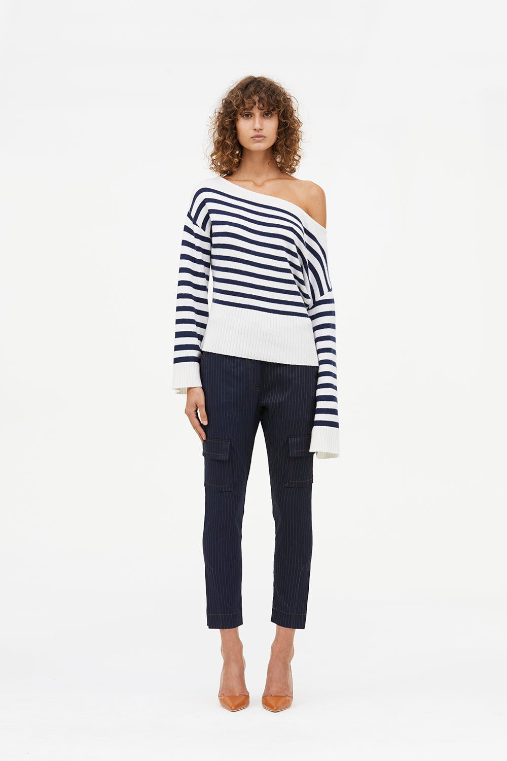 SCREEN PLAY STRIPE KNIT JUMPER