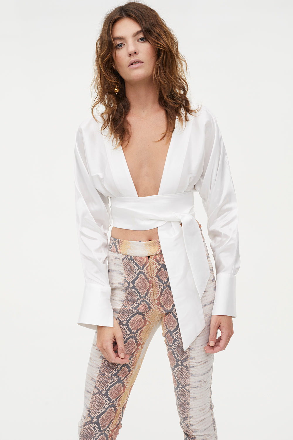 PUMPED UP WRAP TOP