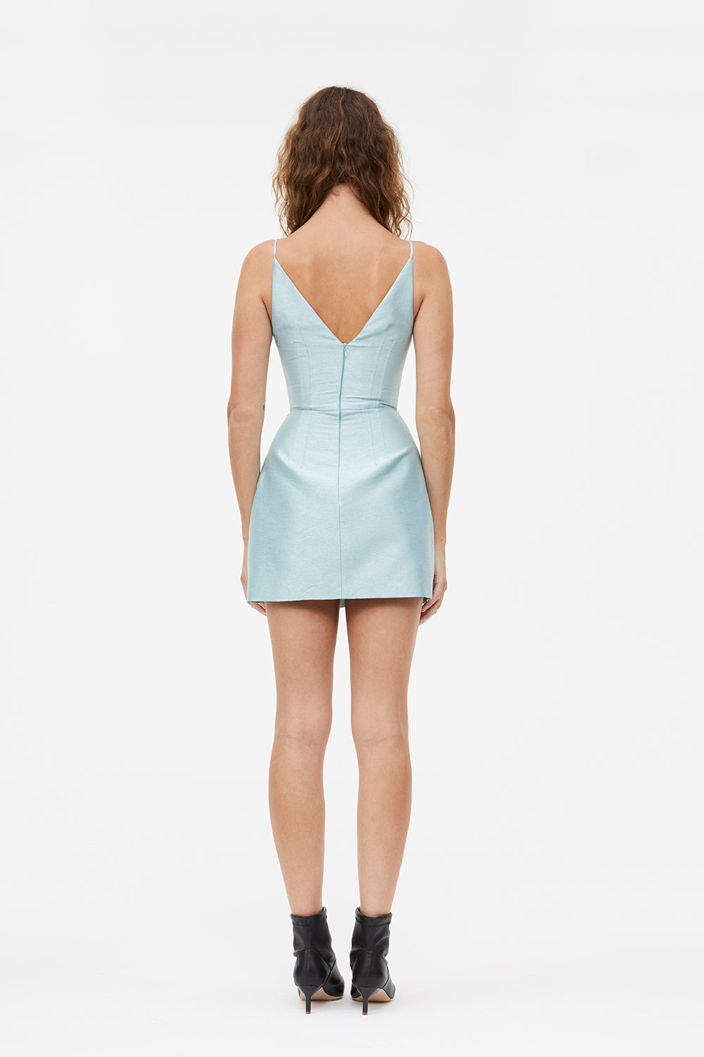 BEAMS & DARTS MINI DRESS