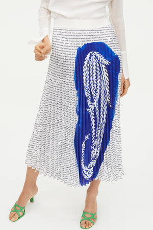 MODERN STORIES PLEATED SKIRT