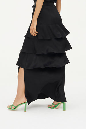 HIGH NOTES MAXI SKIRT