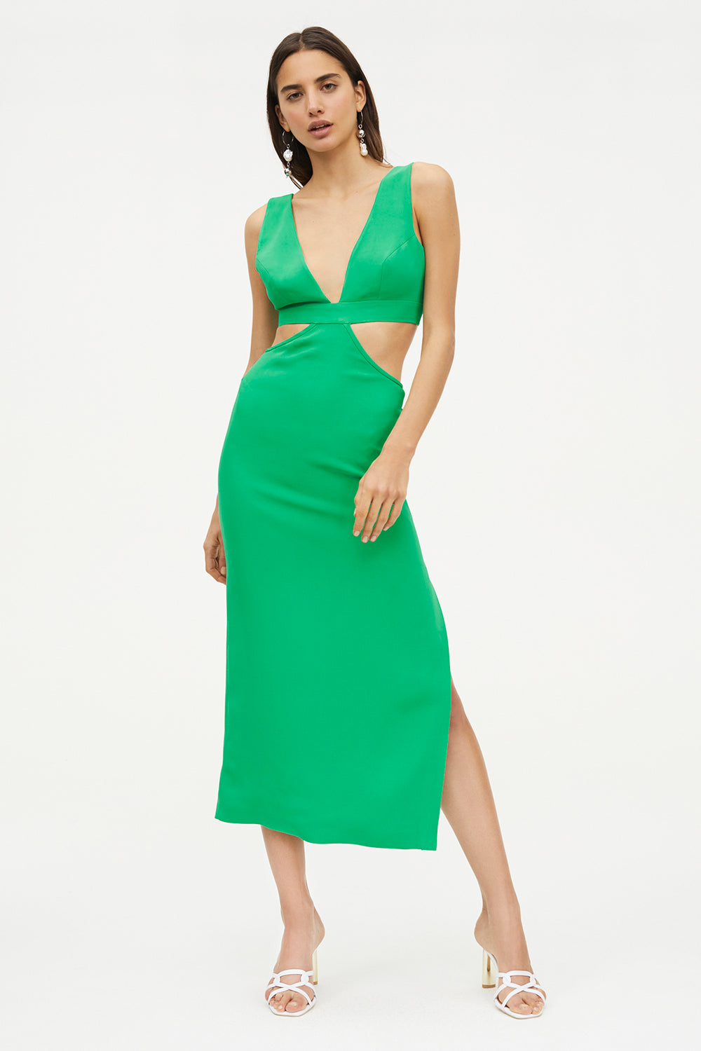 FORBIDDEN FRUIT MIDI DRESS