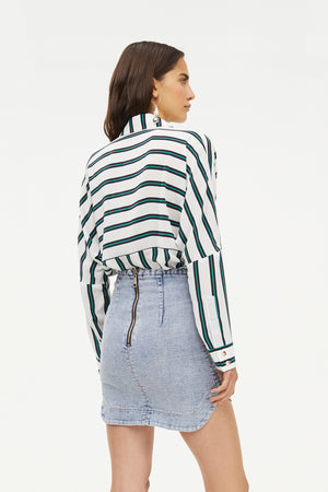 MAJOR KEY DENIM MINI SKIRT