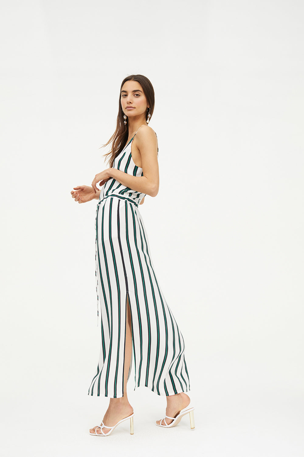 ELEMENTAL STRIPE DRESS