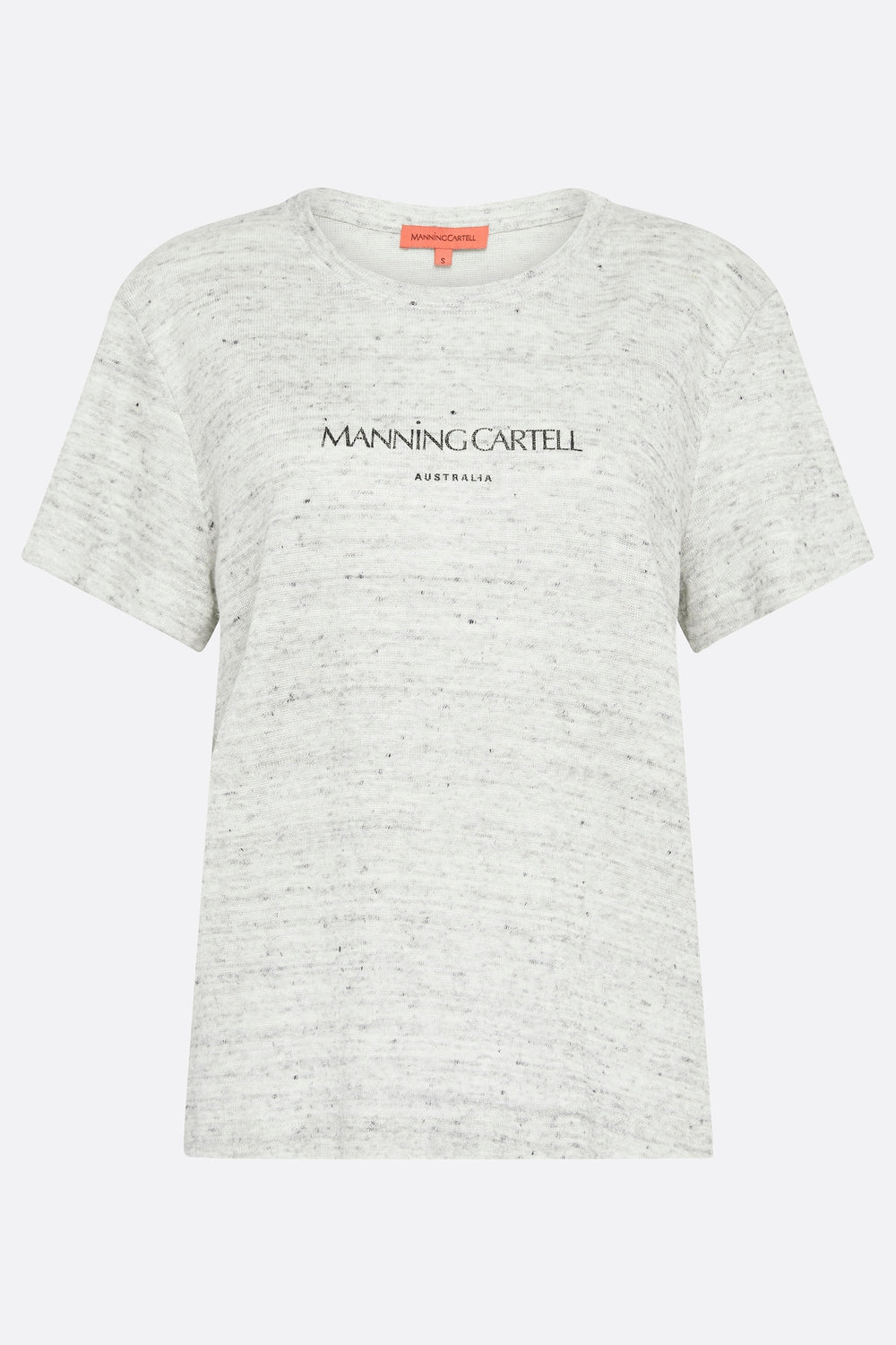 MC AUSTRALIA GREY MARLE T-SHIRT