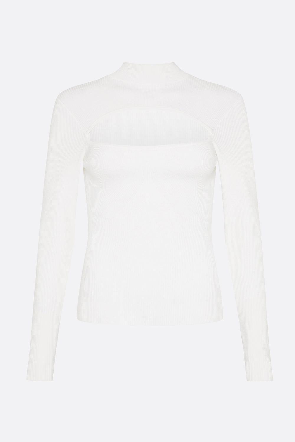 VIRTUAL DIMENSION KNIT TOP