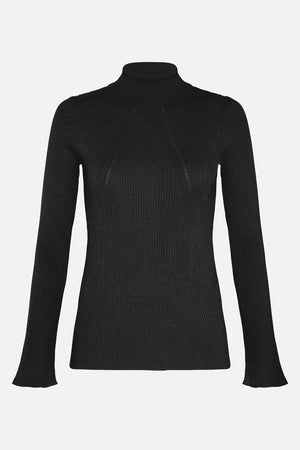 SENSORY OVERLOAD TURTLE NECK KNIT