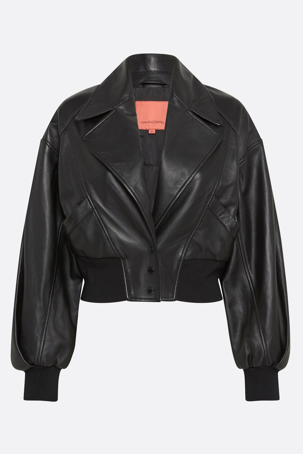 POWER PLAYERS LEATHER BOMBER