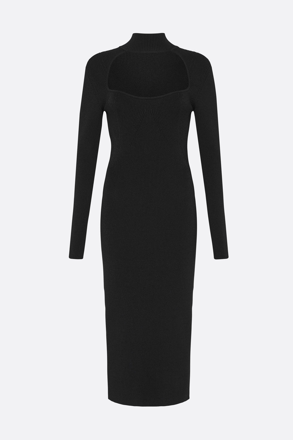 VIRTUAL DIMENSION KNIT DRESS