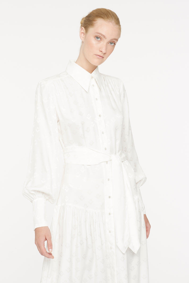 LOGOMANIA SHIRT DRESS