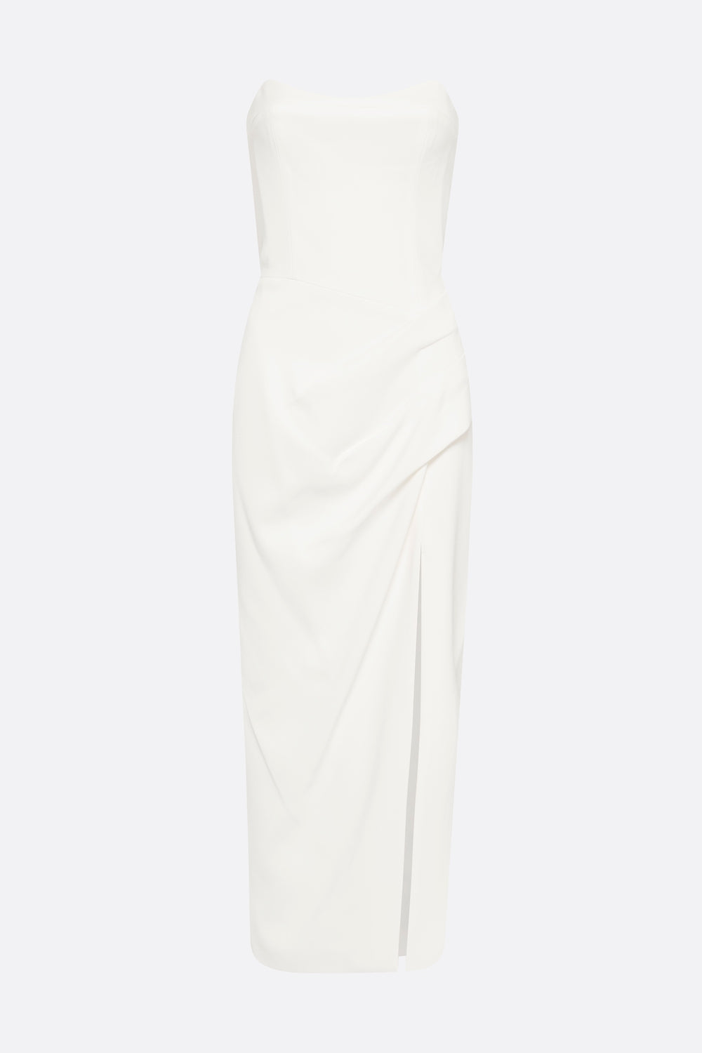 HIT PREDICTOR STRAPLESS DRESS