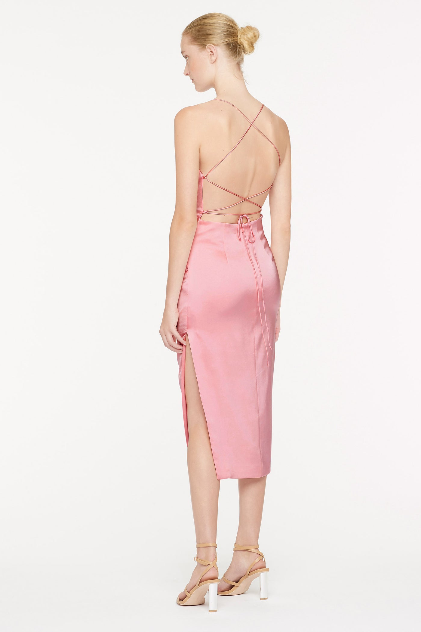 CANDY CRUSH BACKLESS DRESS