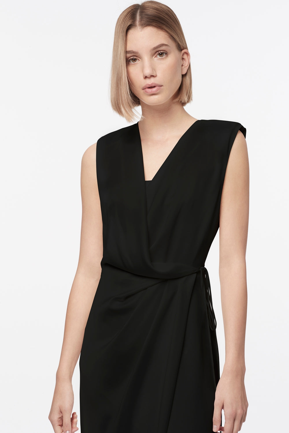 INVISIBLE LIMITS SLEEVELESS DRESS