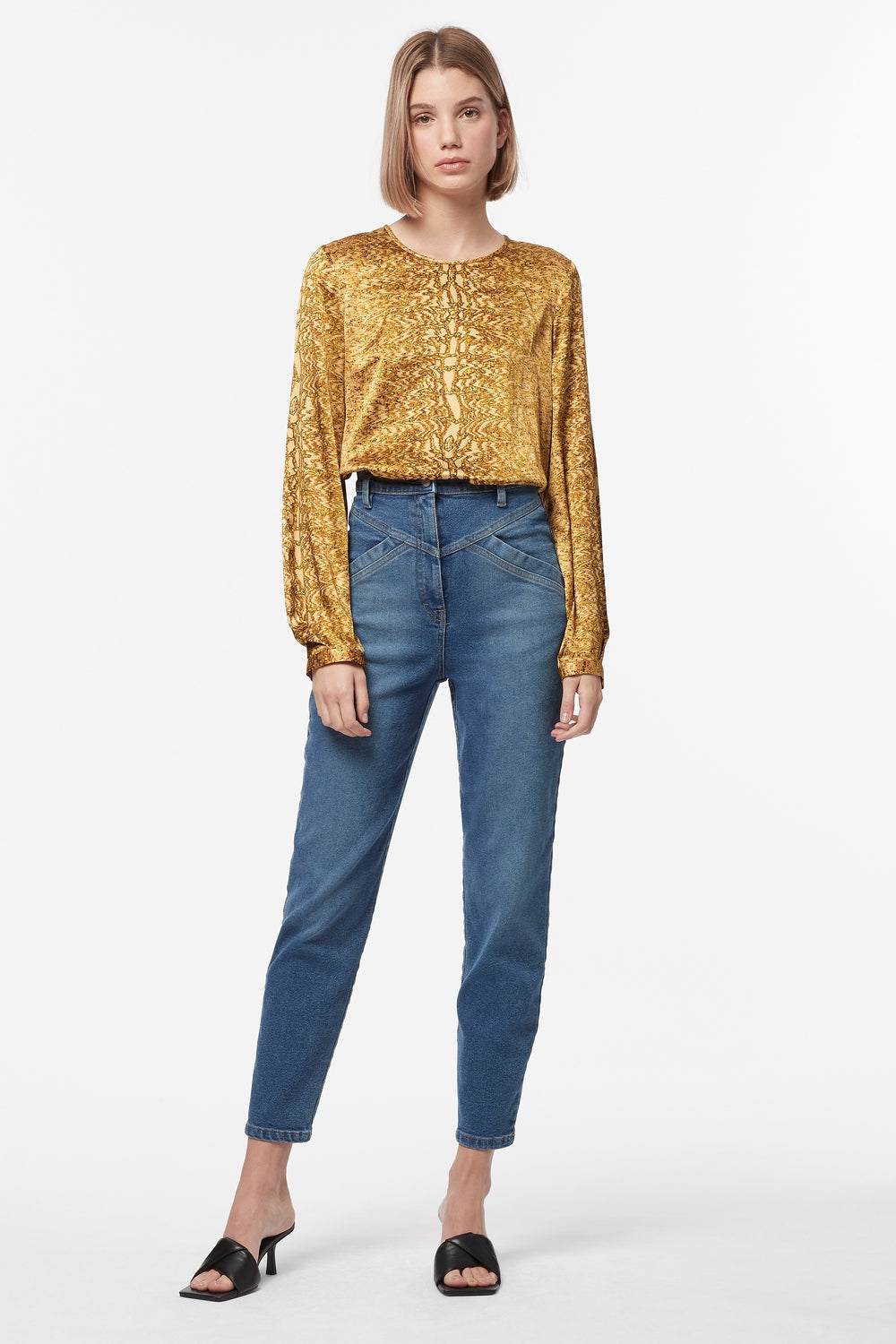 GOLDEN ATLAS BLOUSE