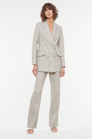 DIAMOND SUITING BLAZER