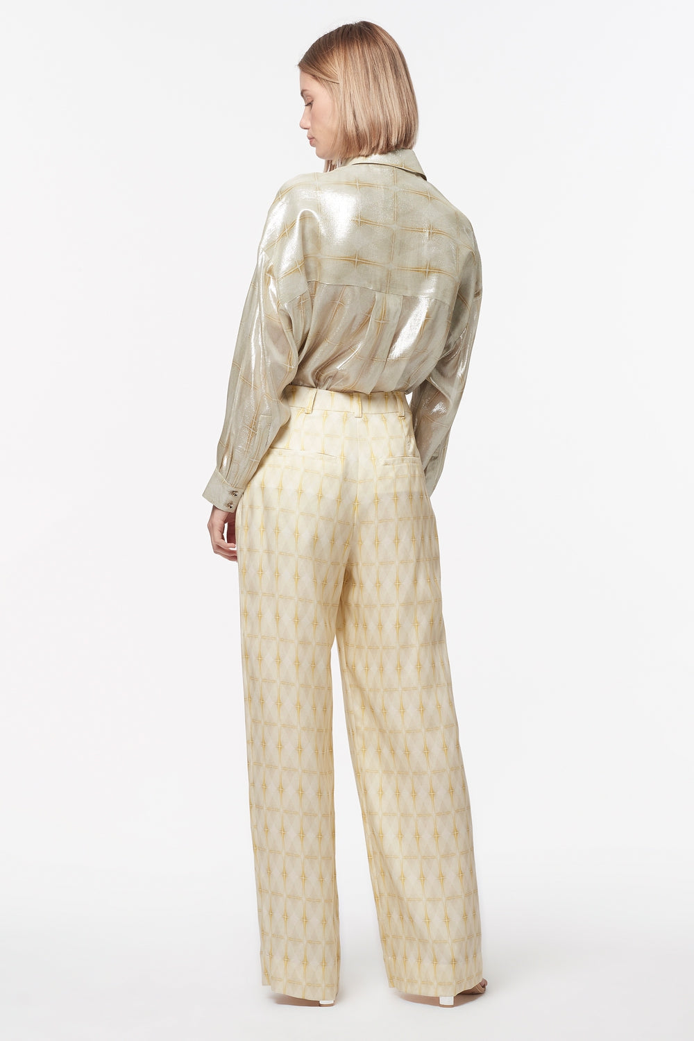 DIAMOND STANDARD WIDE LEG PANT
