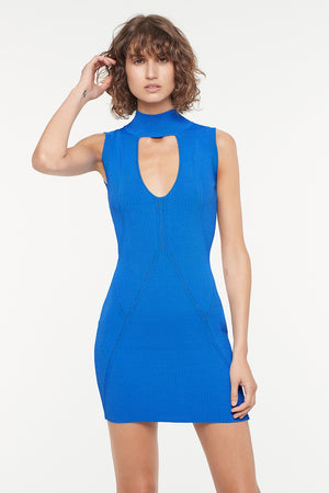 STATE OF PLAY KNIT MINI DRESS