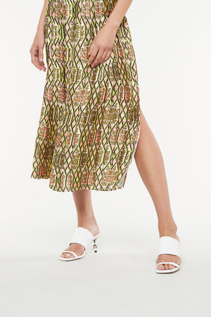 SUGAR POP PLEATED SKIRT