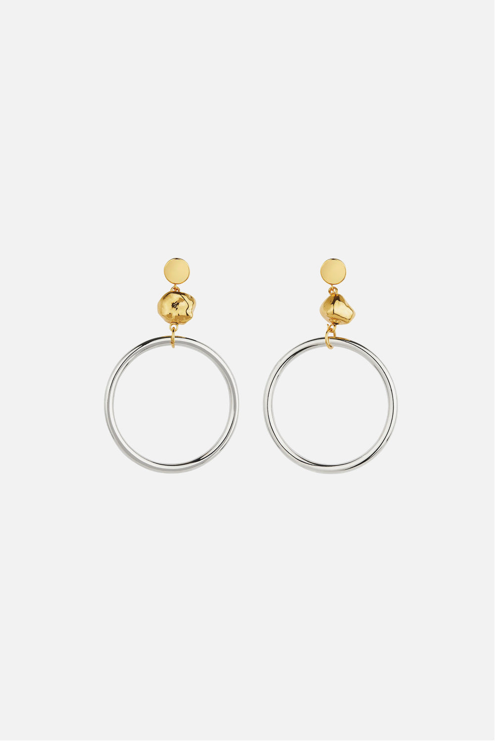 MOUNSER CYCLE LARGE HOOP EARRING