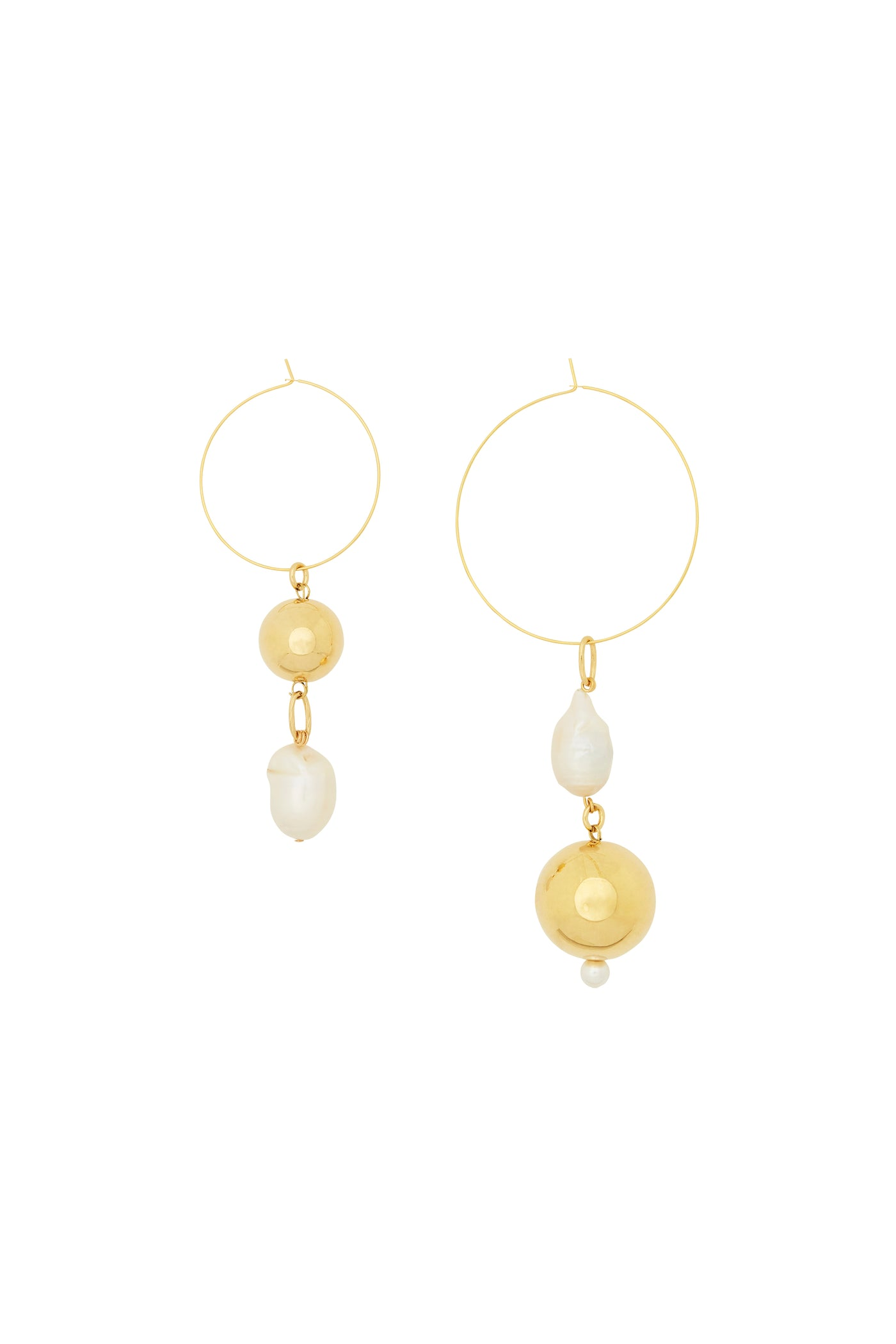 MOUNSER PAGODA FRUIT EARRING