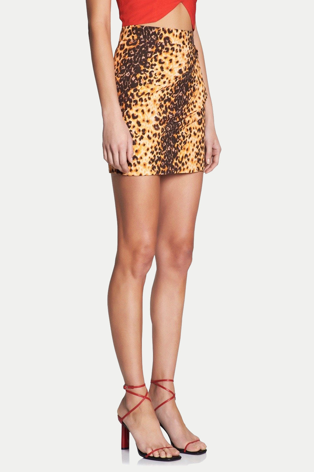 JAGUAR MARKINGS MINI SKIRT
