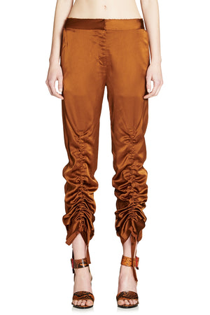 GIRLS ON FIRE RUCHED PANT
