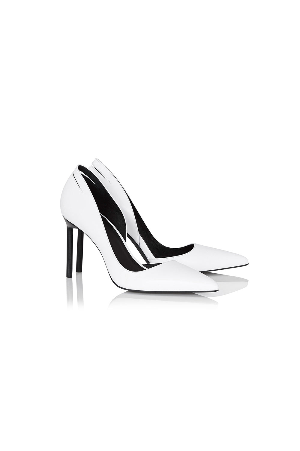 POINTED PUMP HEEL