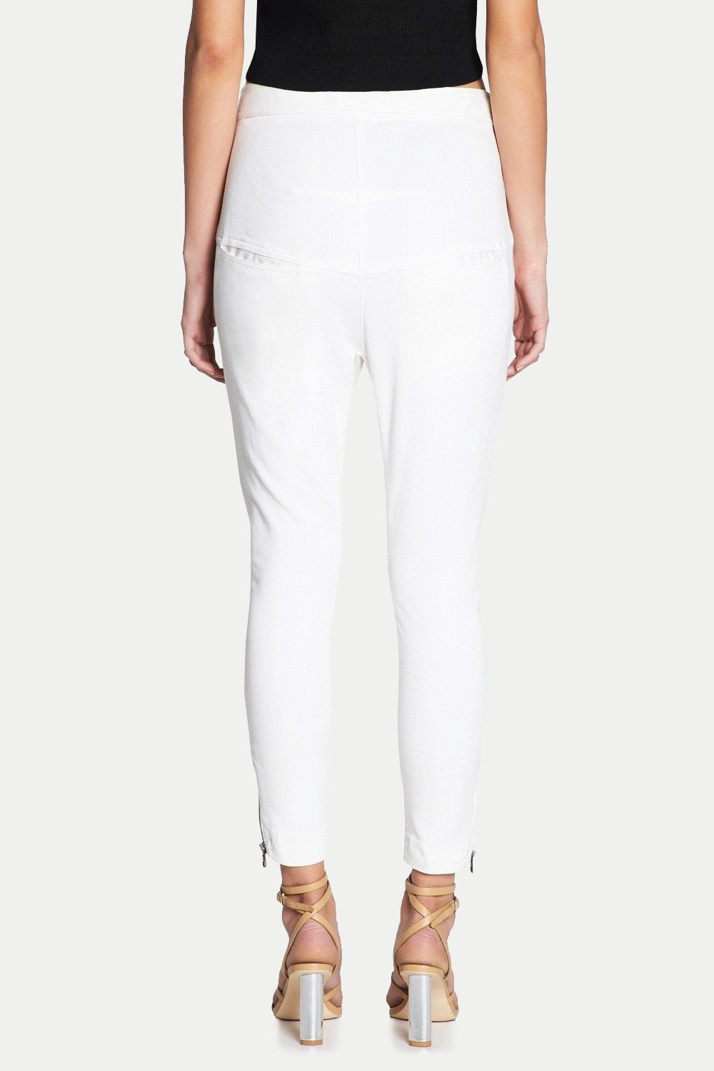 WHITE GUARD SLOUCH PANT