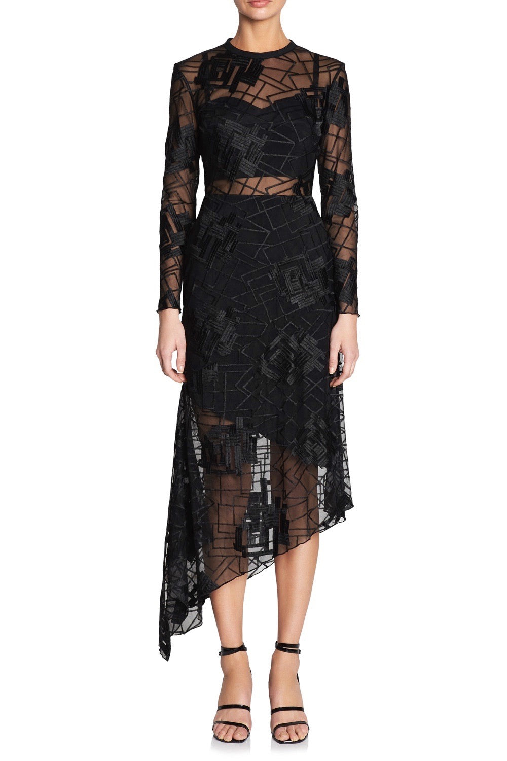 SMOKE & MIRRORS L/S DRESS