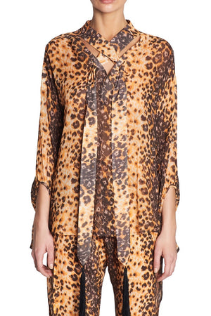 JAGUAR MARKINGS BLOUSE
