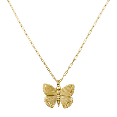 Butterfly Necklace, Gold Layering Necklaces, Gold Layered Jewelry